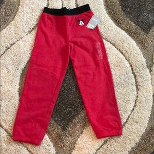 Disney Mickey sweatpants with M and logo